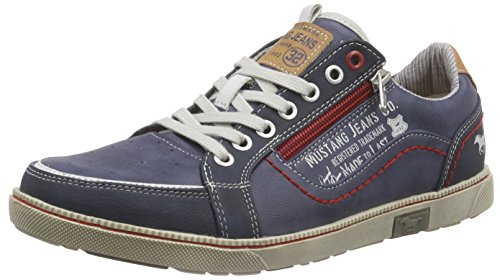 mustang 4073 302 800 herren sneakers blau 800 dunkelblau 40 eu schuhe24. Black Bedroom Furniture Sets. Home Design Ideas