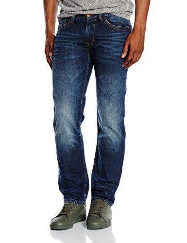 cross jeans herren relaxed jeanshose antonio gr w32 l32 herstellergr e 32 blau dark blue. Black Bedroom Furniture Sets. Home Design Ideas